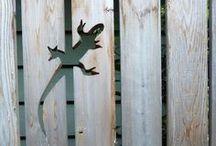 Kerítés, kert