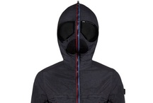Spring/Summer 2012 collection / AI–RIDERS ON THE STORM ultralight and high-tech jackets that are visually striking and comfortable, light, practical and porous thanks to the high quality materials used and their innovative design. / by AI RIDERS ON THE STORM