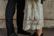 Shoes / Wedding shoes that aren't ivory and silk
