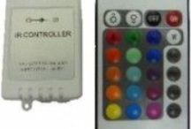 Controlador + mando a distancia rgb