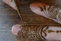 S T A I N . M E . L I L ༻✤༺ / There is no indian wedding widout this mehndi art / by Rohitha Sheshadri (✿◕ ‿   ◕)