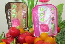Saladshots Up Close / Saladshots is a new brand of innovative, fun, individual serve all natural salad dressings.