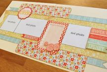 scrapbooking layouts. / inspiration {not my pages} / by Amanda Richter