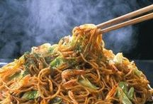 Chinese/Asian Food Recipies / Chinese and Asian Cuisine / by Annette Lawrence