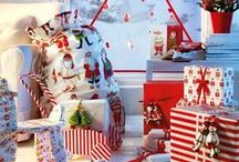 Winter holidays board