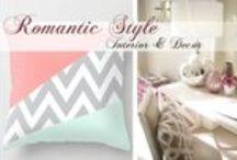 Romantic Style - between interior design, decor and fashion / http://www.creativ-interior.ro/2015/02/08/stilul-romantic/