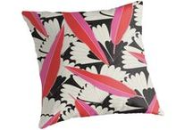 cushions. / perk up your couch. perk up your bed. perk up your home.