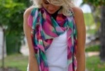 Scarves / Scarves: colours /wearing