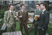 Garden Wedding - Groom / Suit, Brooch