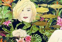 drawings / Klaudia Krupa, drawings, portraits, www.projektowoo.blox.pl