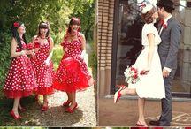50's wedding inspiration