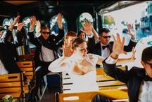 Wedding Trolleys / Have your wedding with Chicago Trolley! We can provide a number of trolley's for your special event, for your bridal party or to carry your guests to the ceremony. If you are in the Chicago Area, we are the perfect fit for a fun filled wedding.