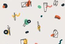 Illusztráció / Inspiráló nyomdák, minták, rajzok