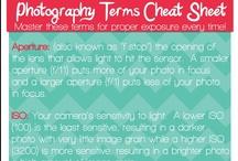 Tutorials / Camera and photography tutorials and cheat sheets