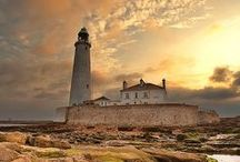 Guiding Lights / Lighthouses in Beautiful Places