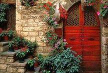 Open, Enter, Exit. / Doorways, Windowsills and Gateways to Amazing Views