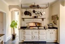 Country style AGA kitchens