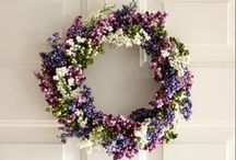 Wreath Inspiration / by Tiffany Skizinski