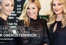 """Kampagne """"Mein Oberösterreich"""" / LT1 Kampagne mit unseren ModeratorInnen.   Fotografin: Sarah Katharina  Styling/Hair/Visa: Cambio Beauty  Location: Tabakfabrik Linz"""
