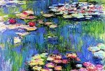 schilderijen met bloemen en planten... / schilderijen met bloemen