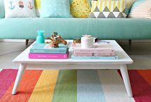 Colourful Interiors / The most colourful and cheerful interiors to brighten up any gloomy day.