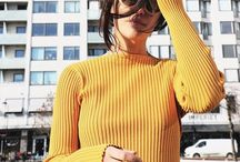 Colourful Yellow Fashion / We're feeling springy, and what better way to celebrate than through the medium of colour! Here are some fabulous yellow fashion pieces.