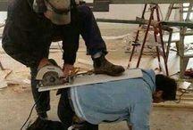 Sicurezza sul lavoro / Situazioni pericolose da evitare!!!