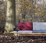 WITH A VIEW - autumn 2017 lookbook / TABANDA design photo shoot with kroniki. TABANDA furniture in the soothing and intriguing outdoor.
