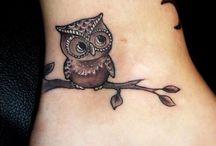 Tatoeages / Geweldige, mooie of aparte ideeën voor een tatoeage.
