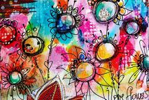 Art Journals / kreatives for SMASH BOOK <3