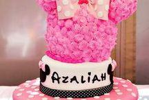 Azaliah Joy / Minnie mouse first birthday