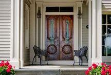 Doors / All doors open to courtesy -- Thomas Fuller.  C'mon in! ...