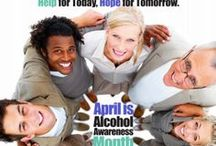 April is Alcohol Awareness Month / Help for Today, Hope for Tomorrow.                                Pins do not necessarily reflect the views of or act as an endorsement by ASAC.