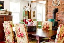 Curated Tablescapes / We love a well-dressed table -- whether grand or precious, for dining or display ...