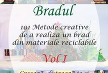 Brazi din materiale reciclabile / Beazi din materiale reciclabile facuti de adulti imperuna cu copii