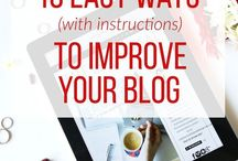 Blogging Tips / Blogging tips, how to improve your blogging and earn real money, tips and trics