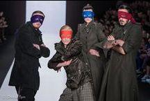 "YEZ by YEGORZAITSEV / Показ коллекции ""PATRONKI"" бренда YEZ by YEGORZAITSEV на MERCEDES-BENZ FASHION WEEK RUSSIA."