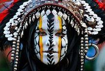 Portét ženy-ethnic,traditional