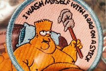 Patches/pins/bottons / Iron on patches