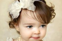 Baby headband DIY / Beautiful lace, satin, felt, tile, fabric DIY flowers and no sew kids headbands