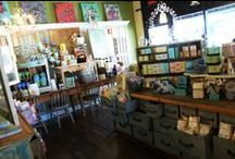 Schuyler Pond At Scallions / A tour of the new store at 44 Lake Avenue in Saratoga, NY.