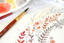 WATERCOLOR / Inspiration à l'aquarelle