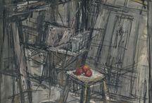 Giacometti Alberto / Sculpteur et peintre suisse (1901-1966).