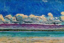 Hodler Ferdinand / Peintre suisse (1853-1918)