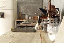 Kitchen - contemporary farm