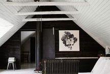 Attics & Small Interiors / Smart thinking when utilising small spaces.