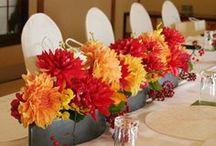ブーケ・会場装花 [ 和風 和婚 和装 ] / ブーケや会場装花、花冠等のウェディングフラワーを中心に、ケーキ、ドレス、招待状、シューズ、アクセサリー等、結婚式のイメージをカラー別にまとめたボードです。 [ wedding inspiration : japanese style ] bouquet,table coordination,dress,shoes,invitation card and so on.