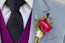 Grooms Attire / Inspiration for your wedding suit & colour combos