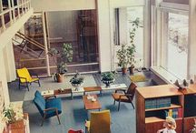 {-Office Design-} / 1960' furniture + earth elements (see rock my world board and you're in the jungle now baby boards)