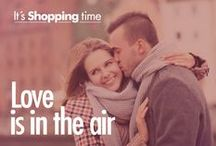 Love is in the Air / It's Shopping time.